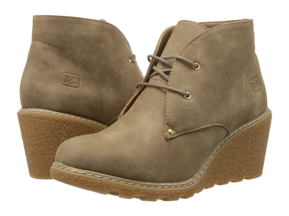 Dirty Laundry - Hartford (Tan) Women's Lace-up Boots