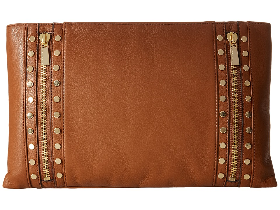 Vince Camuto - Julle Clutch (Mocha Bisque) Clutch Handbags