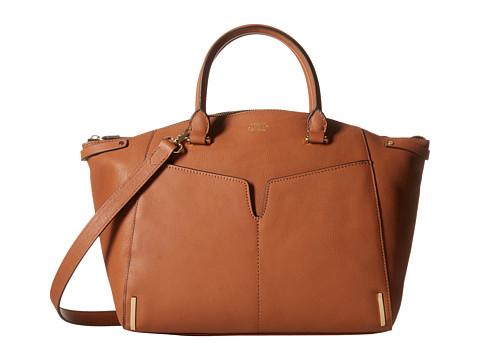 Vince Camuto - Asha Satchel (Umber) Satchel Handbags