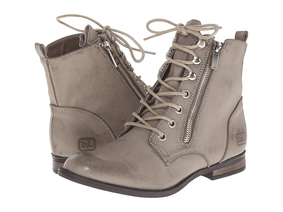 Dirty Laundry - Kranberri (Light Grey) Women's Lace-up Boots