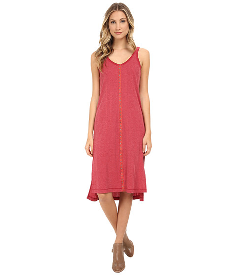 Free People - Drop Needle Rib Venice Tunic (Vintage Red) Women