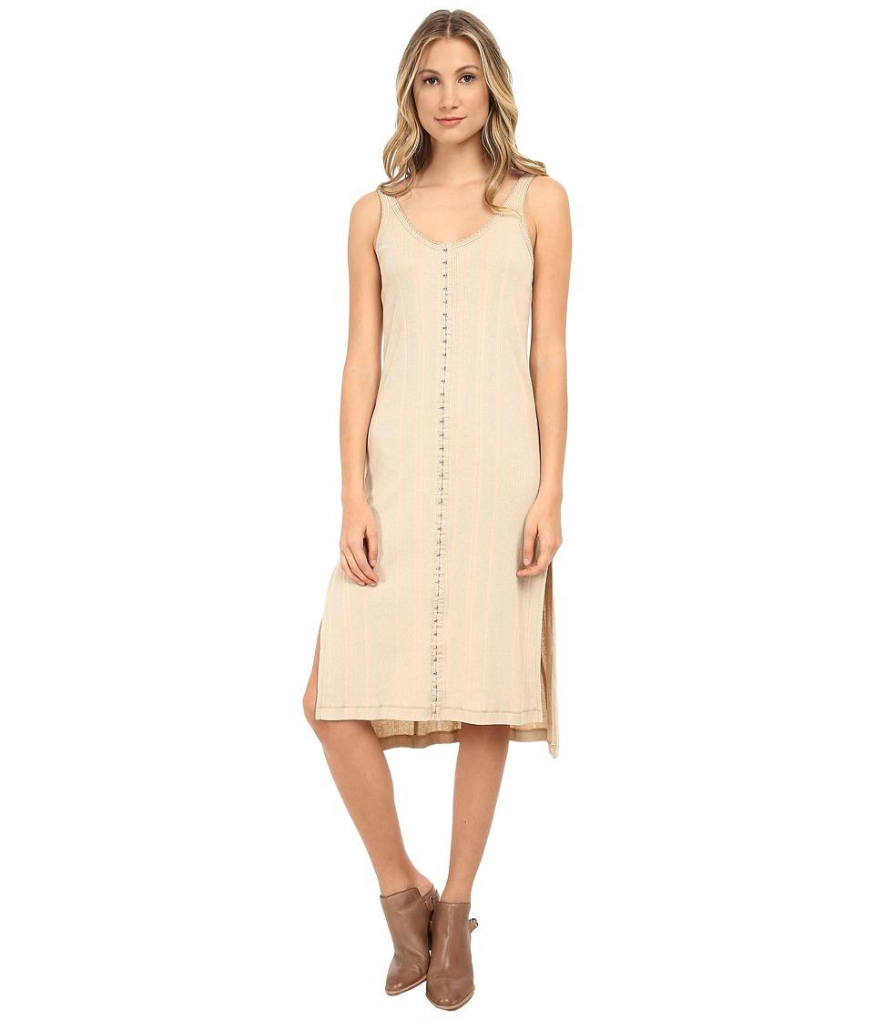 Free People - Drop Needle Rib Venice Tunic (Oatmeal) Women's Clothing