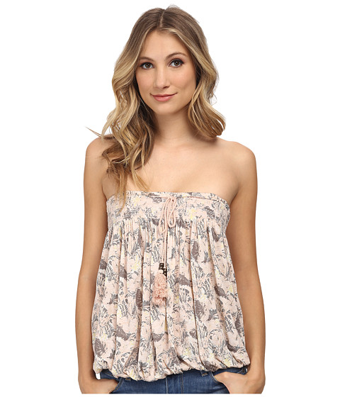 Free People - Printed Bodega Tube Top (Washed Sunrise Combo) Women's Sleeveless