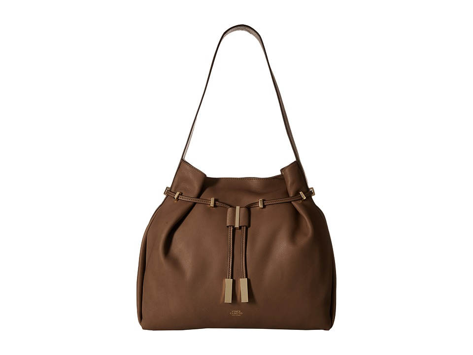 Vince Camuto - Arora Drawstring (Chocolate Chip) Drawstring Handbags
