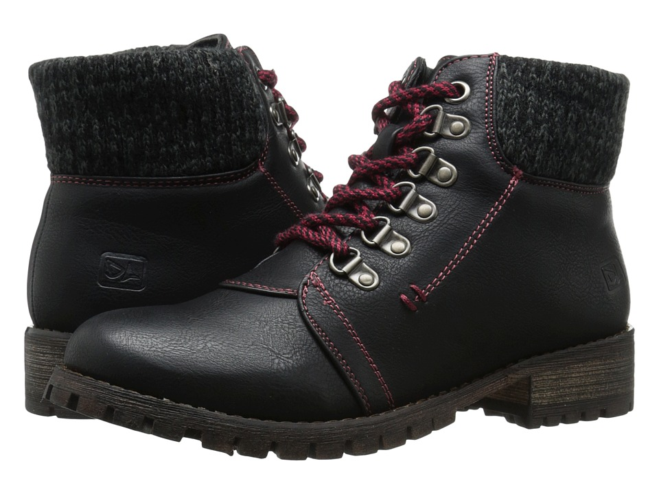 Dirty Laundry - Tracker (Black) Women's Work Lace-up Boots