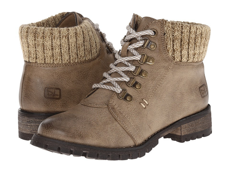 Dirty Laundry - Tracker (Taupe) Women's Work Lace-up Boots