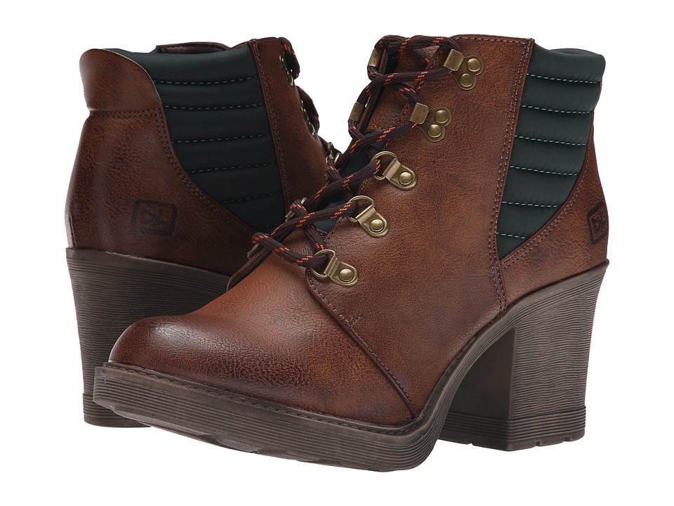 Dirty Laundry - Rockstar (Brown) Women's Lace-up Boots