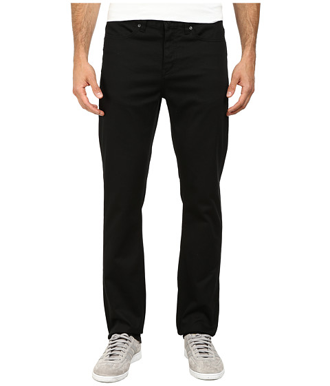 KR3W - K Slim Five-Pocket Pants (Black) Men's Casual Pants