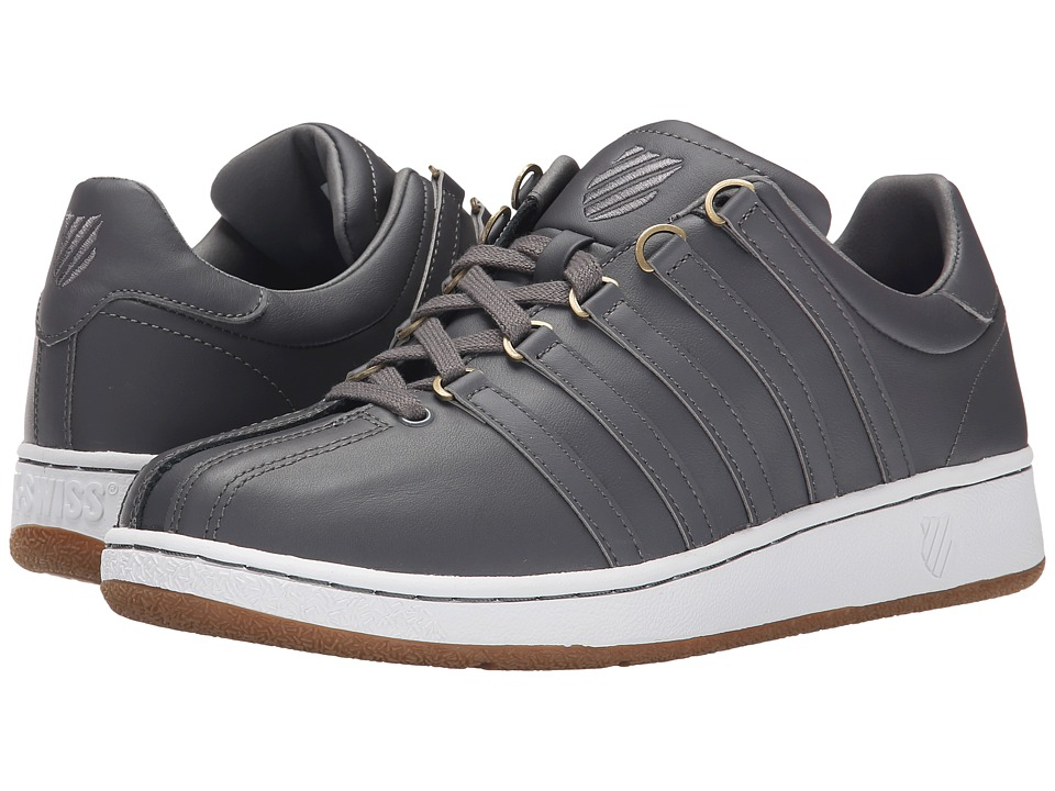K-Swiss - Classic VN (Charcoal/Gum) Men's Shoes