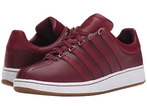 K-Swiss - Classic VN (Zinfandel/Gum) Men's Shoes