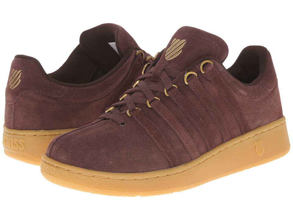 K-Swiss - Classic VN SDE (Chocolate/Gold/Gum) Men's Classic Shoes