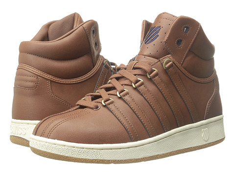 K-Swiss - Classic VN Mid (Friar Brown) Men's Classic Shoes