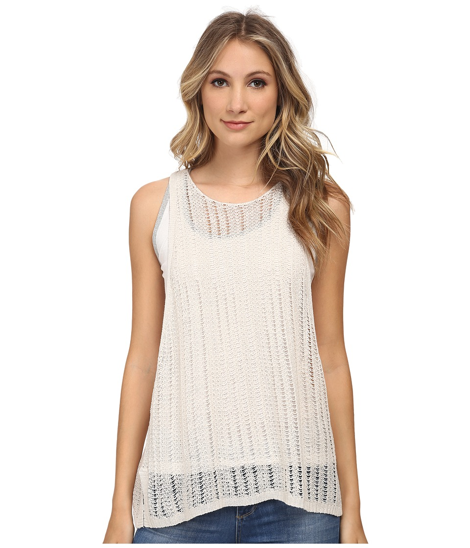 Free People - Double Take Tank Top (Cream) Women's Sleeveless