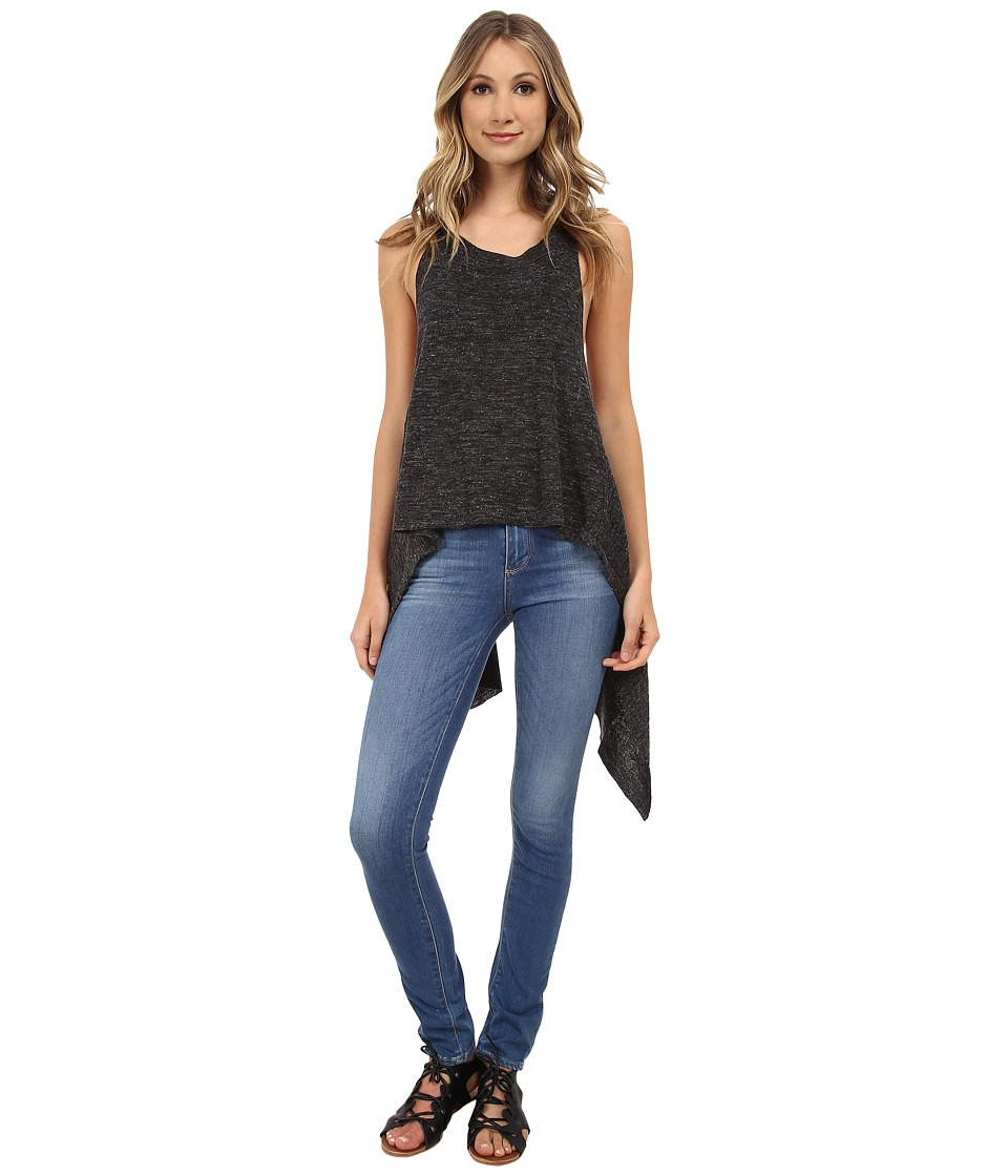 Free People - Utility Sweater Tank Top (Black) Women