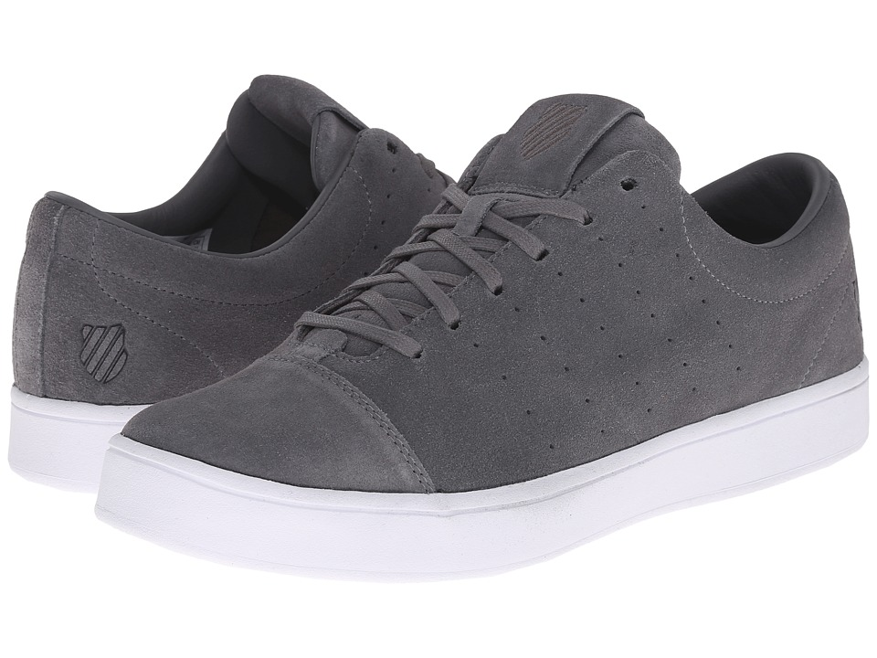 K-Swiss - Washburn SDE (Charcoal/White) Men's Court Shoes