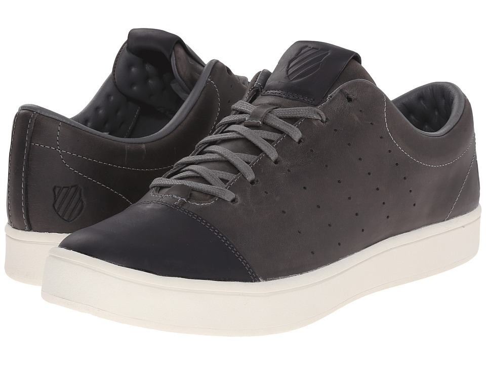 K-Swiss - Washburn P (Charcoal/Bone) Men's Tennis Shoes