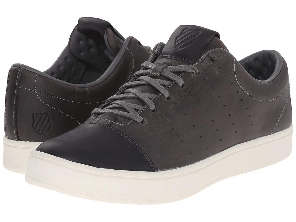 K-Swiss - Washburn Ptm (Charcoal/Bone) Men's Tennis Shoes