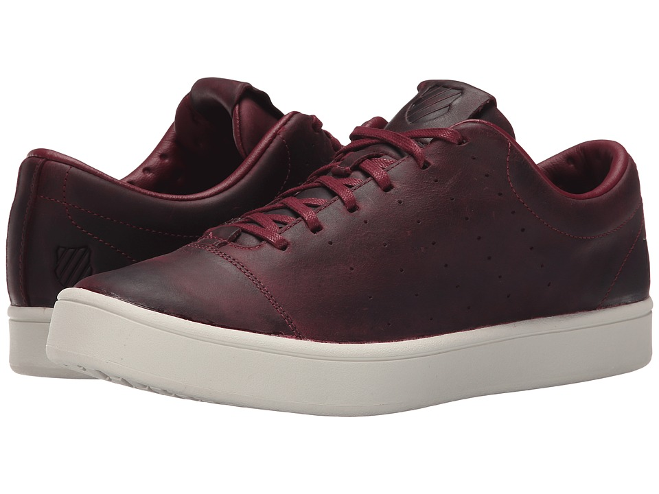 K-Swiss - Washburn Ptm (Zinfandel/Bone) Men's Tennis Shoes