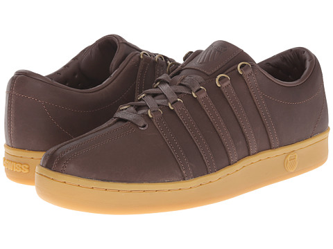 K-Swiss - The Classic (Chestnut/Gum) Men's Tennis Shoes