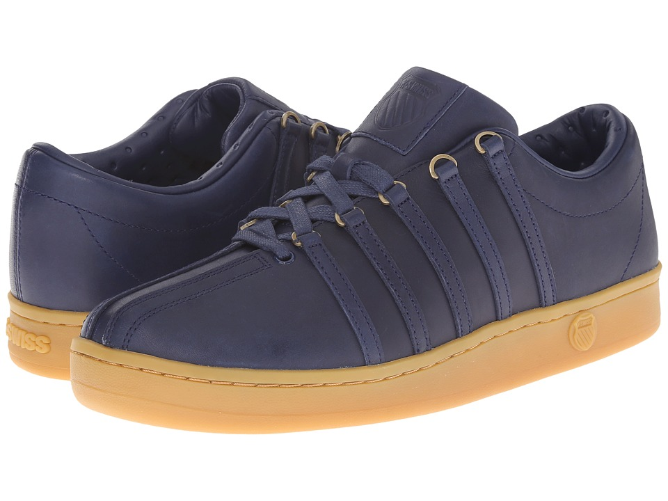 K-Swiss - The Classic (Navy/Gum) Men's Tennis Shoes
