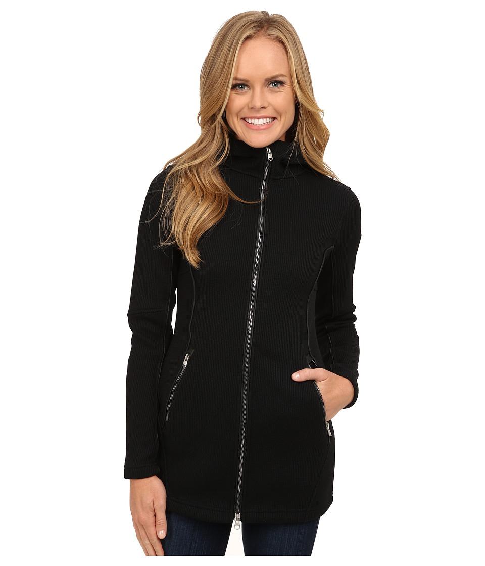 Spyder - Leggy Femme Mid Weight Core Sweater (Black/Black) Women