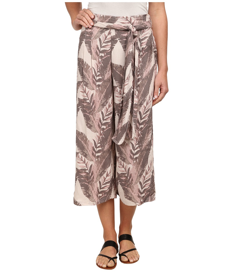 Free People - High Rise Printed Culottes (Ivory Combo) Women's Capri