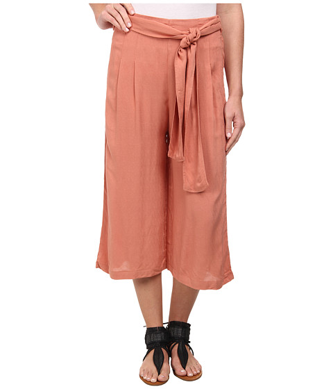 Free People - High Rise Culottes (Soft Coral) Women's Capri