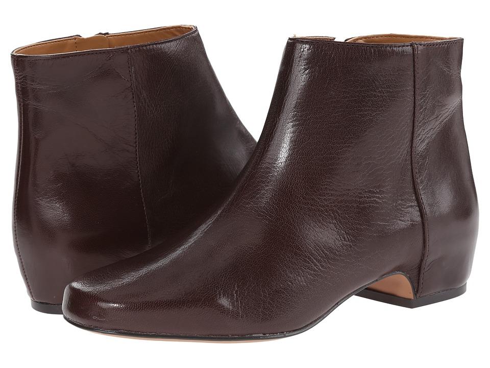 Nine West - Hugginsi (Dark Brown Leather) Women