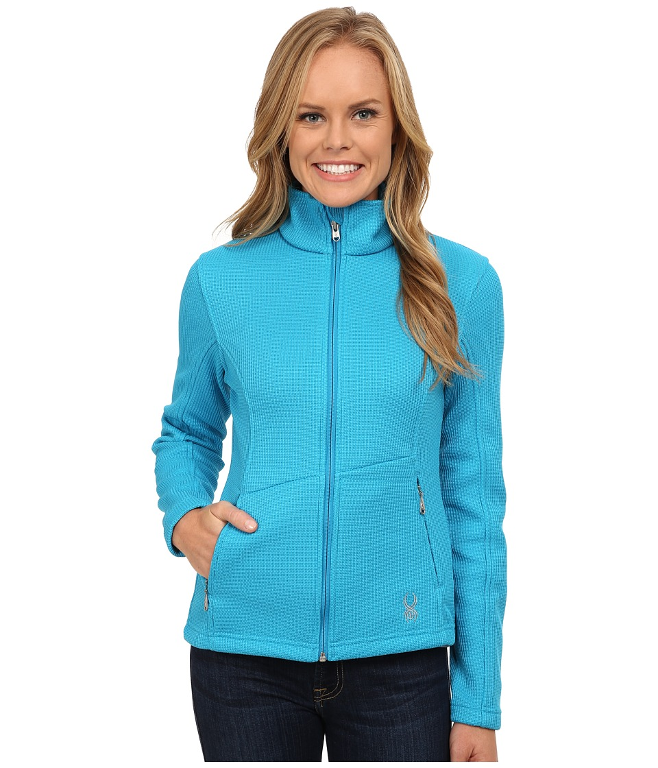 Spyder - Endure Full Zip Mid Weight Core Sweater (Riviera) Women's Sweater
