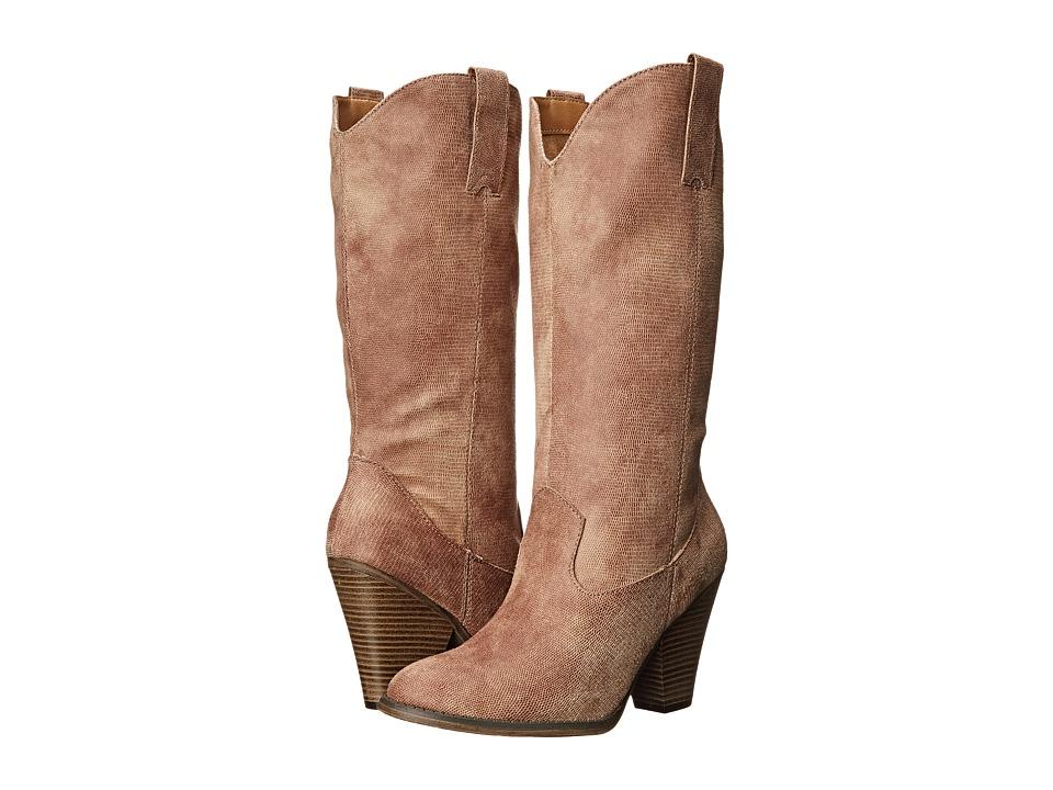 MIA - Brad (Natural Vintage Lizard) Women's Shoes