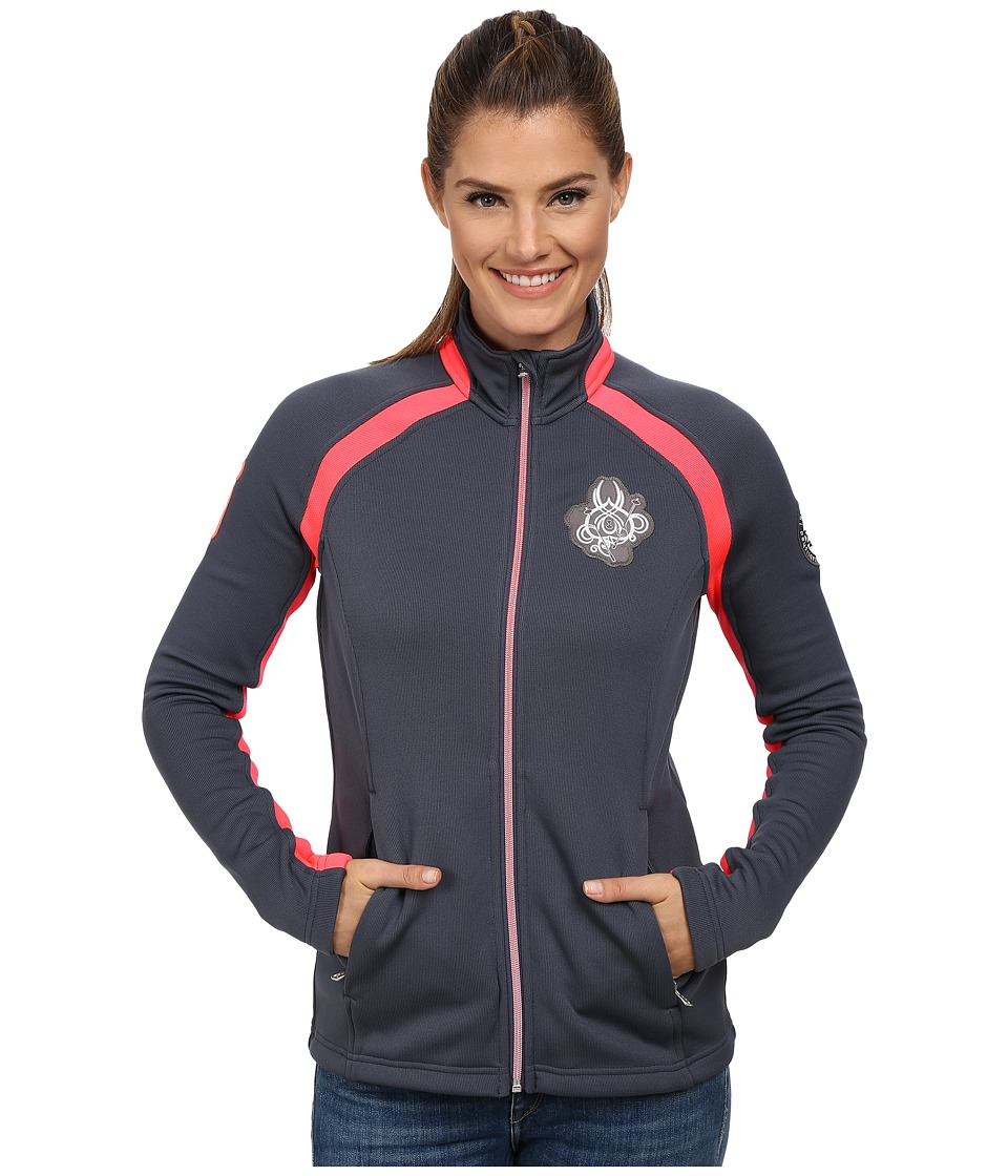 Spyder - Parlay Sweater (Depth/Bryte Pink/Bryte Pink) Women's Sweater