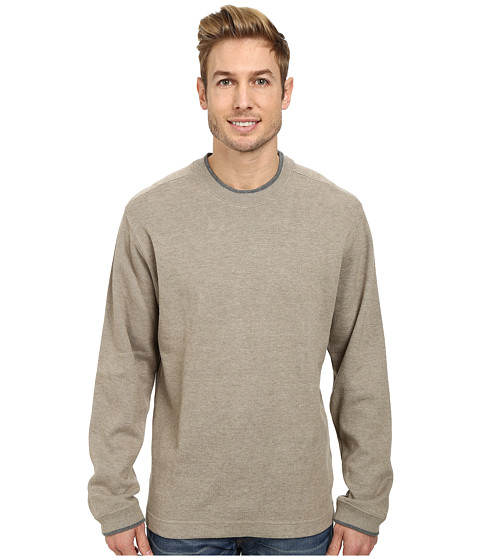 Quiksilver - Rock Lagoon 3 Knit Top (Cliff) Men's Fleece