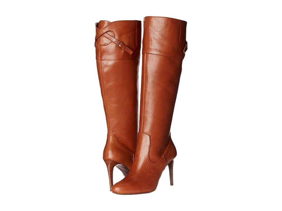 LAUREN Ralph Lauren - Halina (Polo Tan/Polo Tan Burnished Vachetta) Women's Dress Boots