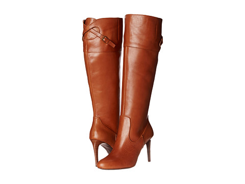LAUREN by Ralph Lauren - Halina (Polo Tan/Polo Tan Burnished Vachetta) Women's Dress Boots