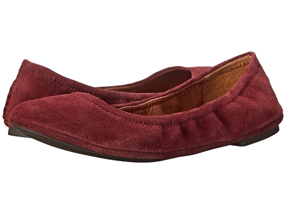 Lucky Brand - Emmie (Ruby Wine) Women's Flat Shoes