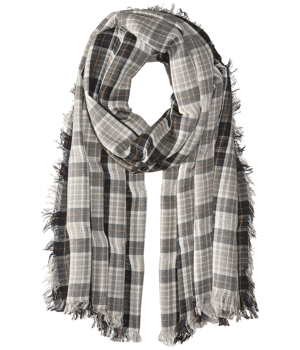 Steve Madden - Missing Check Daywrap (Neutral) Scarves