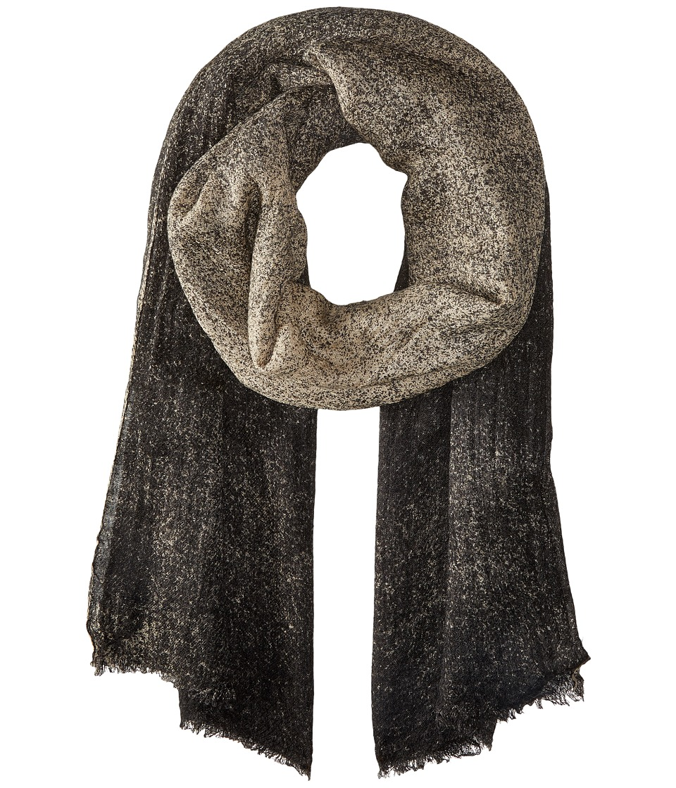 Steve Madden - Textured Ombre Daywrap (Neutral) Scarves