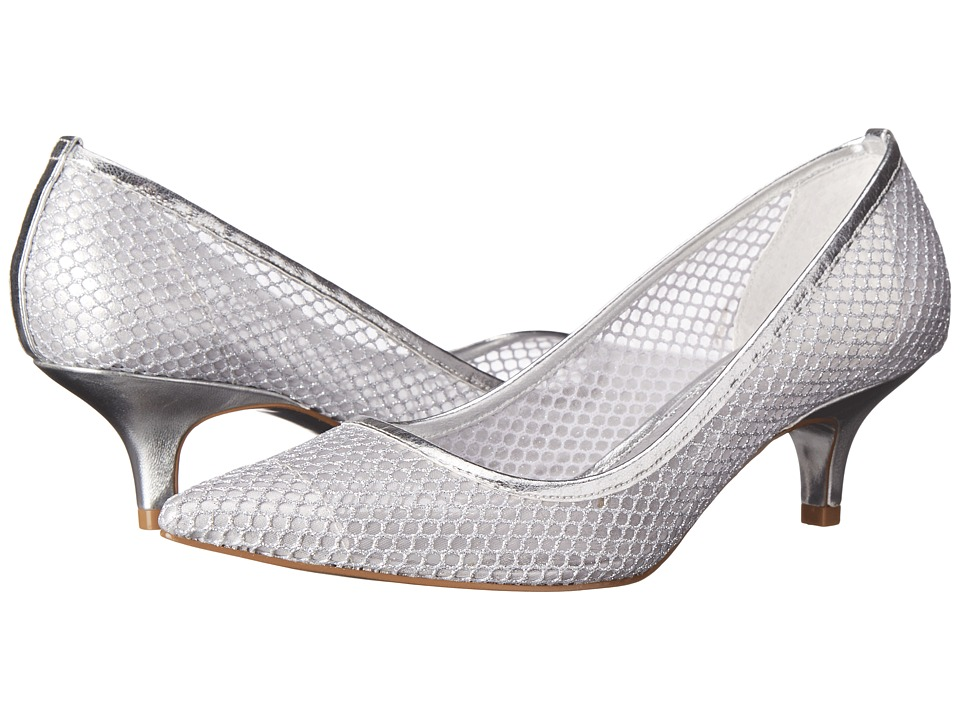 Adrianna Papell Lois (Silver) High Heels