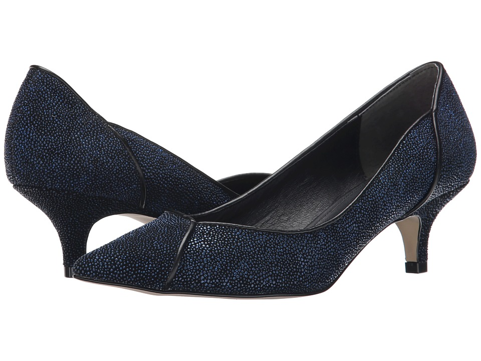 Adrianna Papell - Lydia (Blue Manta Ray Leather) Women