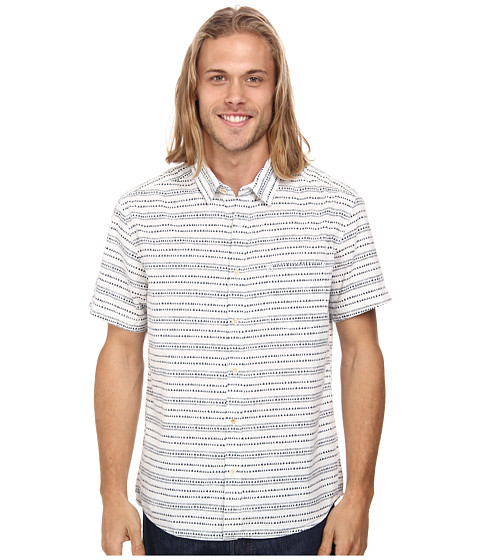Quiksilver - Nendo Woven Top (Nendo Dark Denim) Men's Clothing