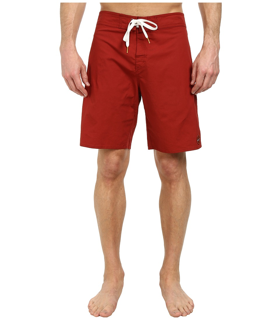 Brixton - Meyer Trunk (Burgundy) Men's Swimwear