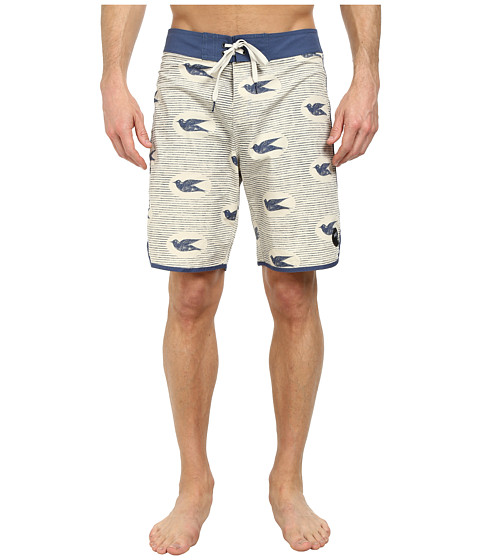 Brixton - Strand Trunk (Cream/Navy) Men