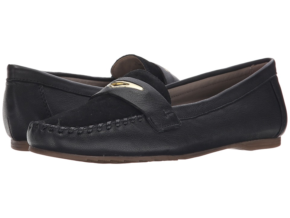 Franco Sarto - Papillion (Black) Women's Flat Shoes