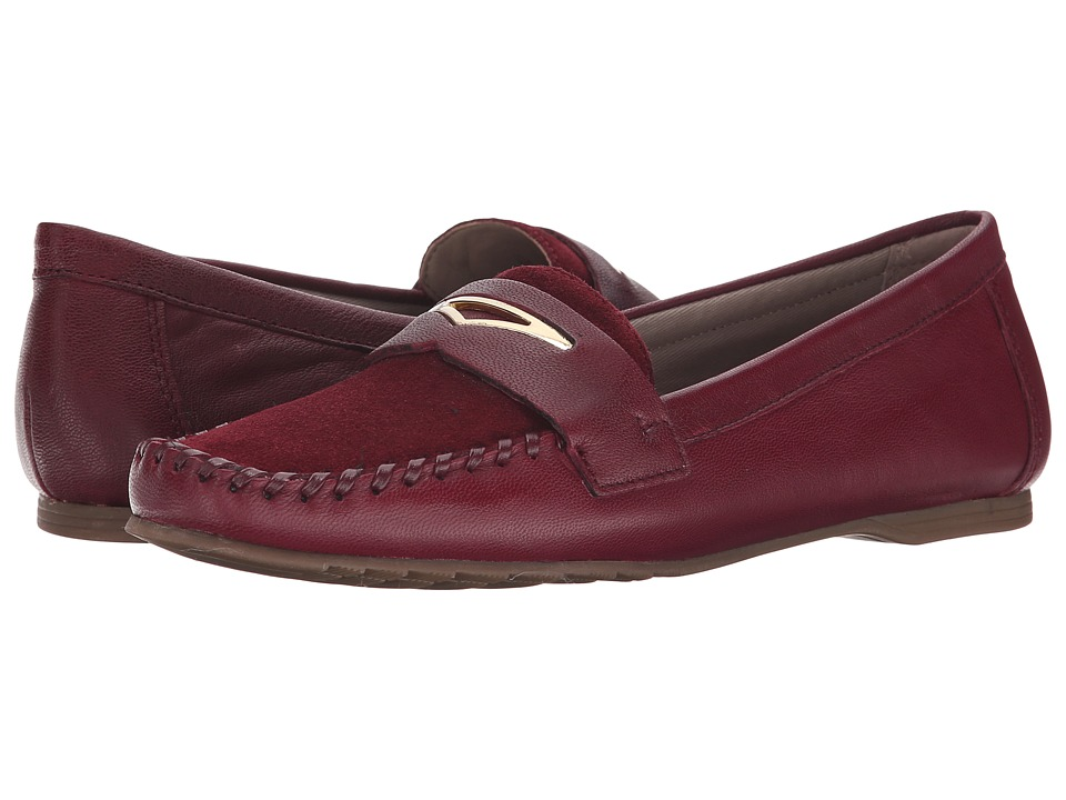 Franco Sarto - Papillion (Bordo) Women's Flat Shoes