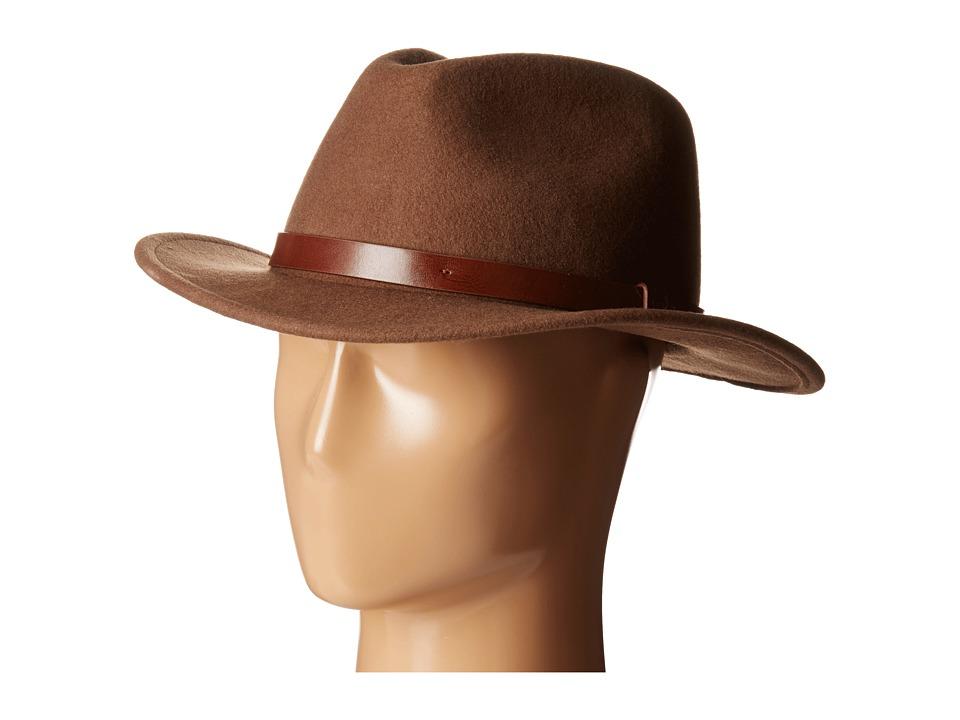Brixton - Messer Fedora (Camel) Fedora Hats