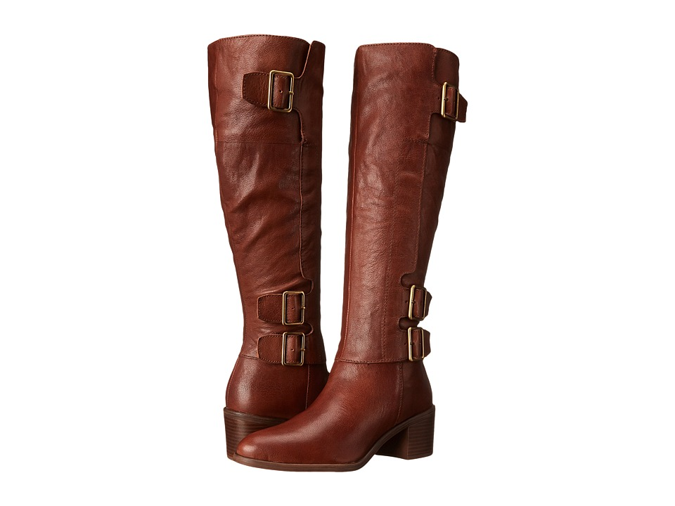 Franco Sarto Elate (Whiskey Brown Leather) Women