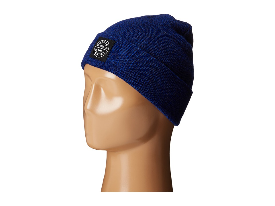 Brixton - Oath Watch Cap Beanie (Royal/Navy) Beanies
