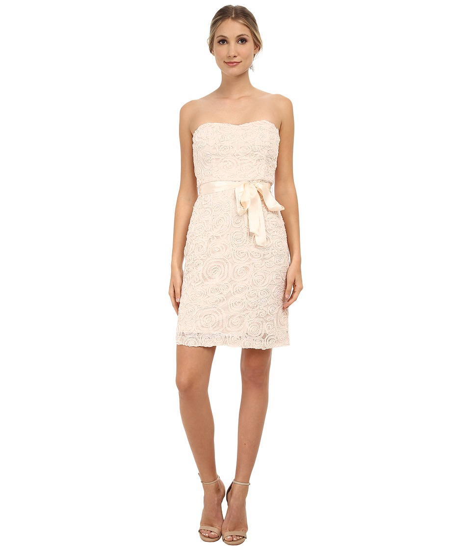 Jessica Simpson - Beaded Soutache Social Dress (Blush) Women