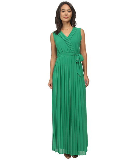 Jessica Simpson - Chiffon Maxi (Green) Women's Dress