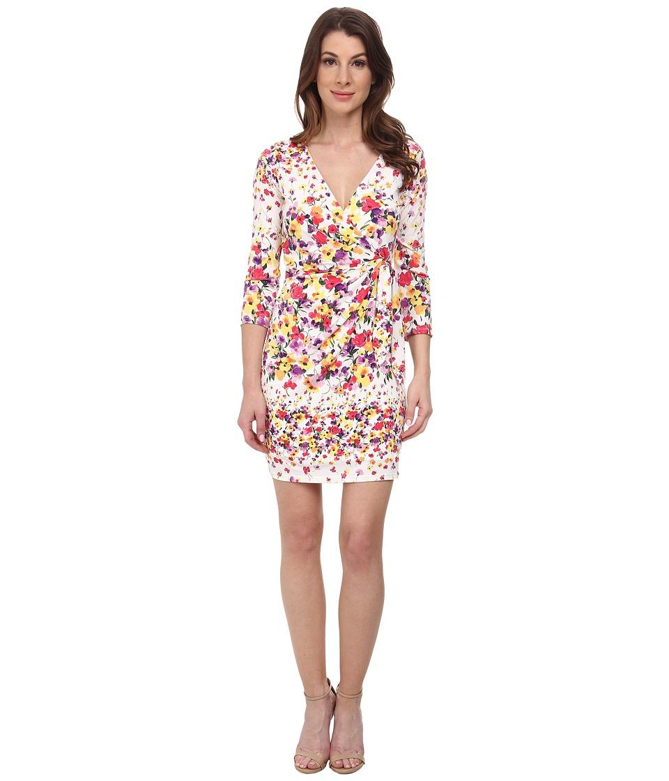 Jessica Simpson Ity Faux Wrap Dress (Print) Women